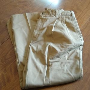 Vintage Dockers Pleated Tan Pants